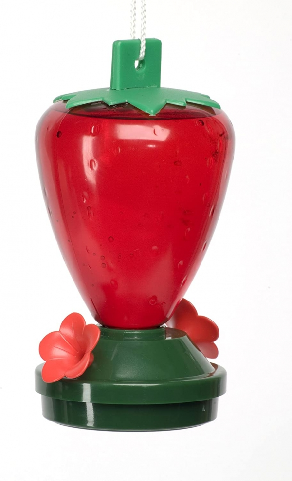 Strawberry Hummingbird Feeder 12-Ounce