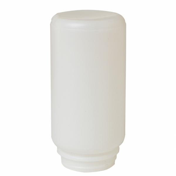 1-Quart screw-on plastic jar