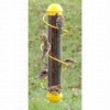 17 in. Yellow Spiral Finch Tube