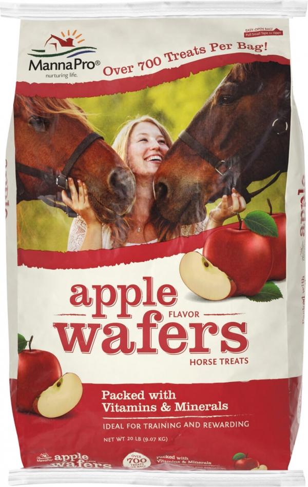 Manna Pro Apple Wafer Horse Treats