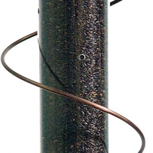 Copper Spiral Nyjer Feeder