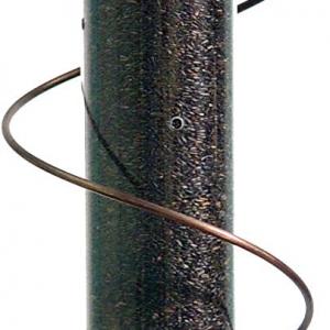 Copper Spiral Nyjer Feeder