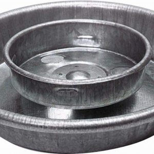 Galvanized 1-Quart Chick Waterer