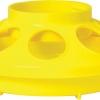 Yellow 1-Quart Chick Feeder