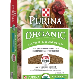 Purina Organic Layer Crumbles 35 lb