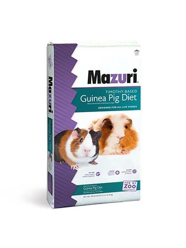 Mazuri Timothy-Based Guinea Pig Diet 25 lb