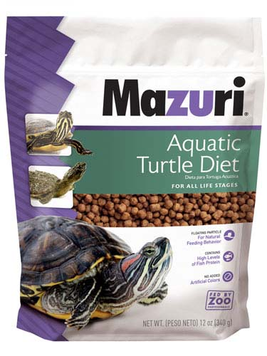 Mazuri Aquatic Turtle Diet 12 oz