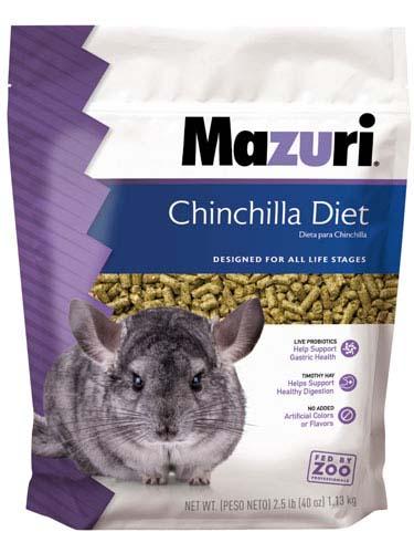 Mazuri Chinchilla Diet 2.5 lb