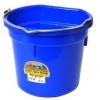 Flat Back Bucket, 20-Quart Blue