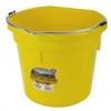 Flat Back Bucket, 20-Quart Yellow