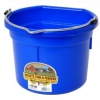 Flat Back Bucket, 8-quart Blue