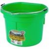 Flat Back Bucket, 8-quart Lime Green