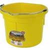 Flat Back 8 quart yellow