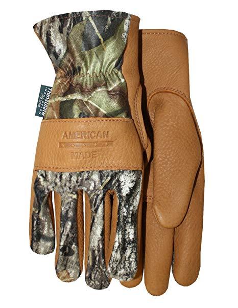 Premium Grade Buckskin Insulated Gloves