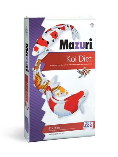 Mazuri Koi Platinum Bits 20 lb