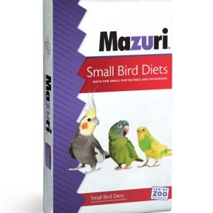 Mazuri ZuLiFe Soft-Bill Diet for Iron Sensitive Birds 15 lb