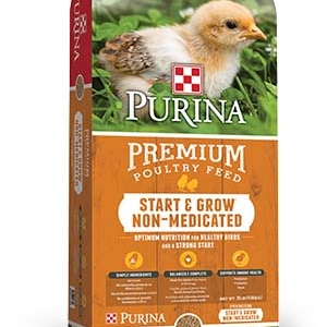 Purina Start and Grow Crumbles 50 lb