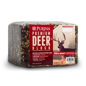 Purina Premium Deer Block 20 lb