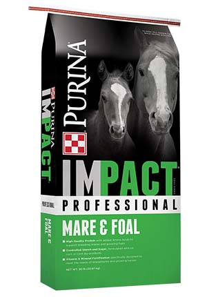 Purina Impact Professional Mare and Foal Horse Feed 50 lb