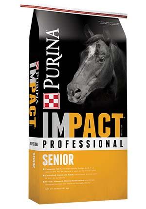 Purina Impact Professional Senior Horse Feed 50 lb