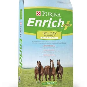 Purina Enrich Plus Ration Balancing Horse Feed 50 lb