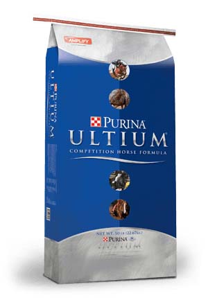 Purina Ultium Competition Horse Formula 50 lb