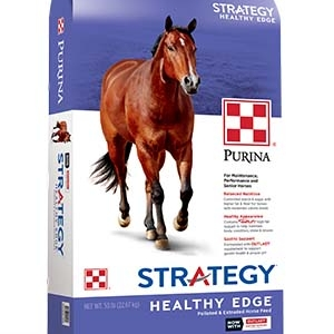 Purina Strategy Healthy Edge Horse Feed 50 lb