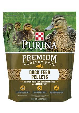 Purina Duck Feed Pellets 5 lb