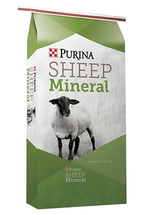 Purina Wind and Rain Sheep Mineral 50 lb