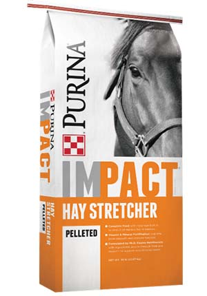 Purina Impact Hay Stretcher Horse Feed 50 lb