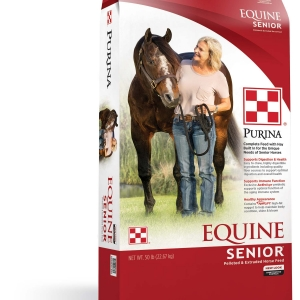 Purina Equine Senior Horse Feed 50 lb