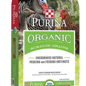 Purina Organic Scratch Grains 35 lb