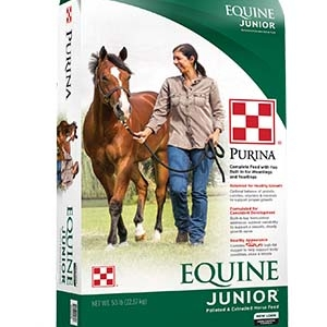 Purina Equine Junior Horse Feed 50 lb