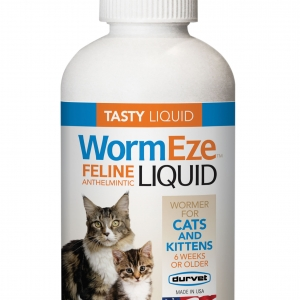 WormEze Liquid Cat Wormer 4 oz