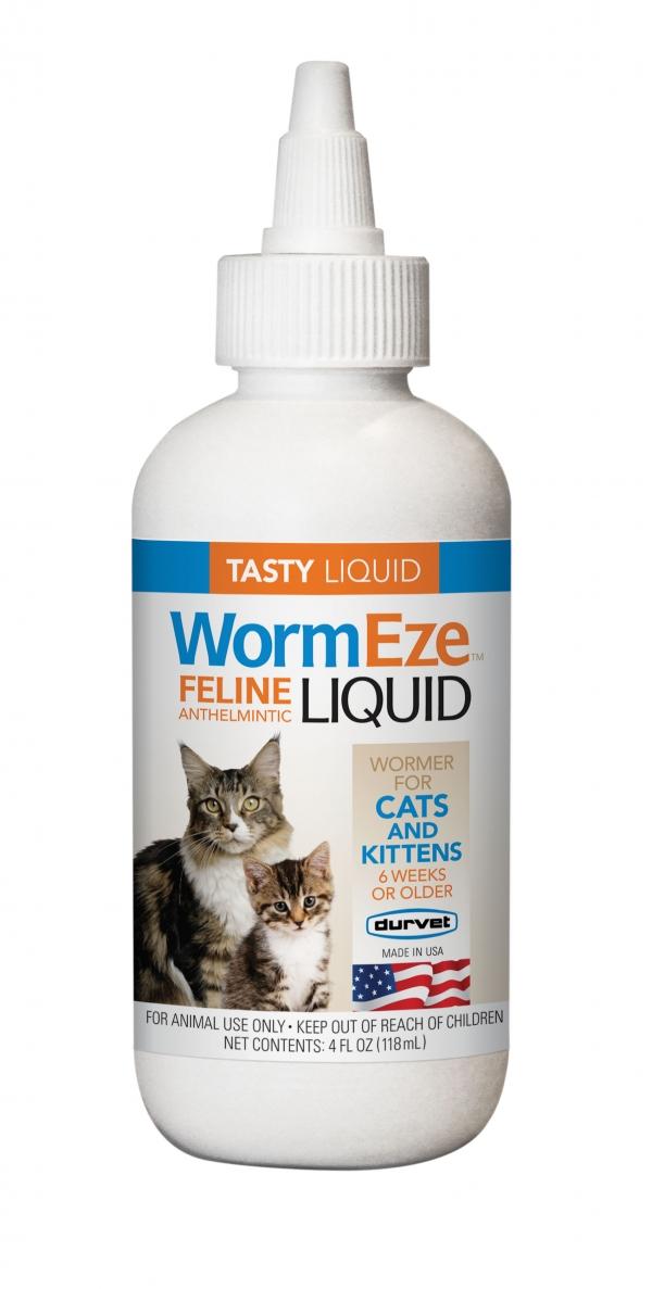 WormEze Liquid Cat Wormer 4 oz