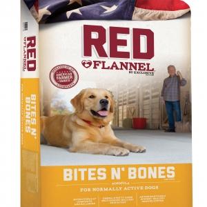 Red Flannel Bites N Bones Dog Food 50 lb