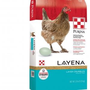 Purina Layena Crumbles 25 lb