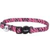 Cat Collar Pink Zebra