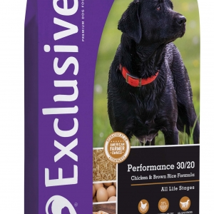 Exclusive Performance 30/20 Chicken and Brown Rice Dog Food 35 lb