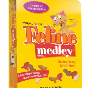 Feline Medley Cat Food 20 lb