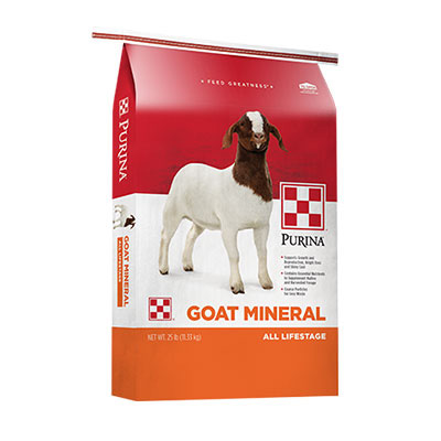 Purina Goat Mineral 25 lb