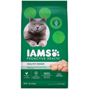 Iams Healthy Senior Cat Food