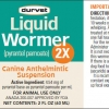 Liquid Wormer label