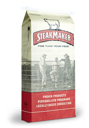 Product Cattle SteakMaker Cattle Feed 50lb Package