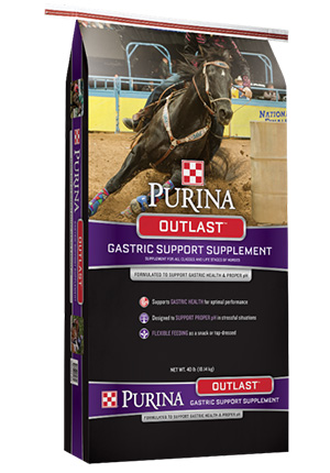 Purina Outlast Gastric Support Supplement 40 lb