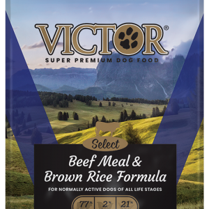 Victor beef-meal-and-brown-rice-formula-dog-food