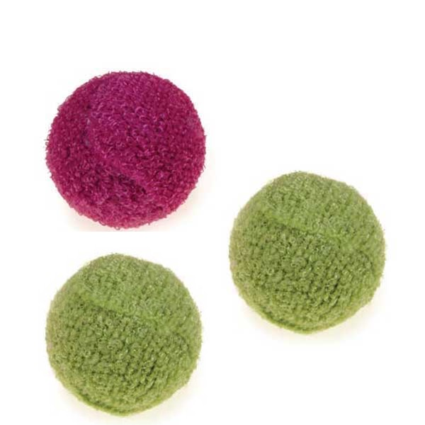 Savvy Tabby Knit Rattle Balls 3