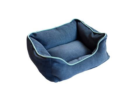 Chenille Lounger Bed