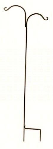 Wrought Iron Double Shepherd Hook 89-Inch