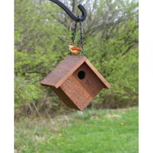 Hanging Cedar Wren House